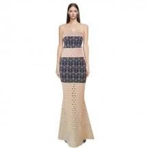 Exotic Views maxi bandage dress