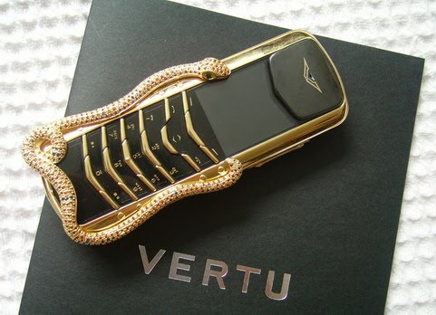 Vertu cellphone