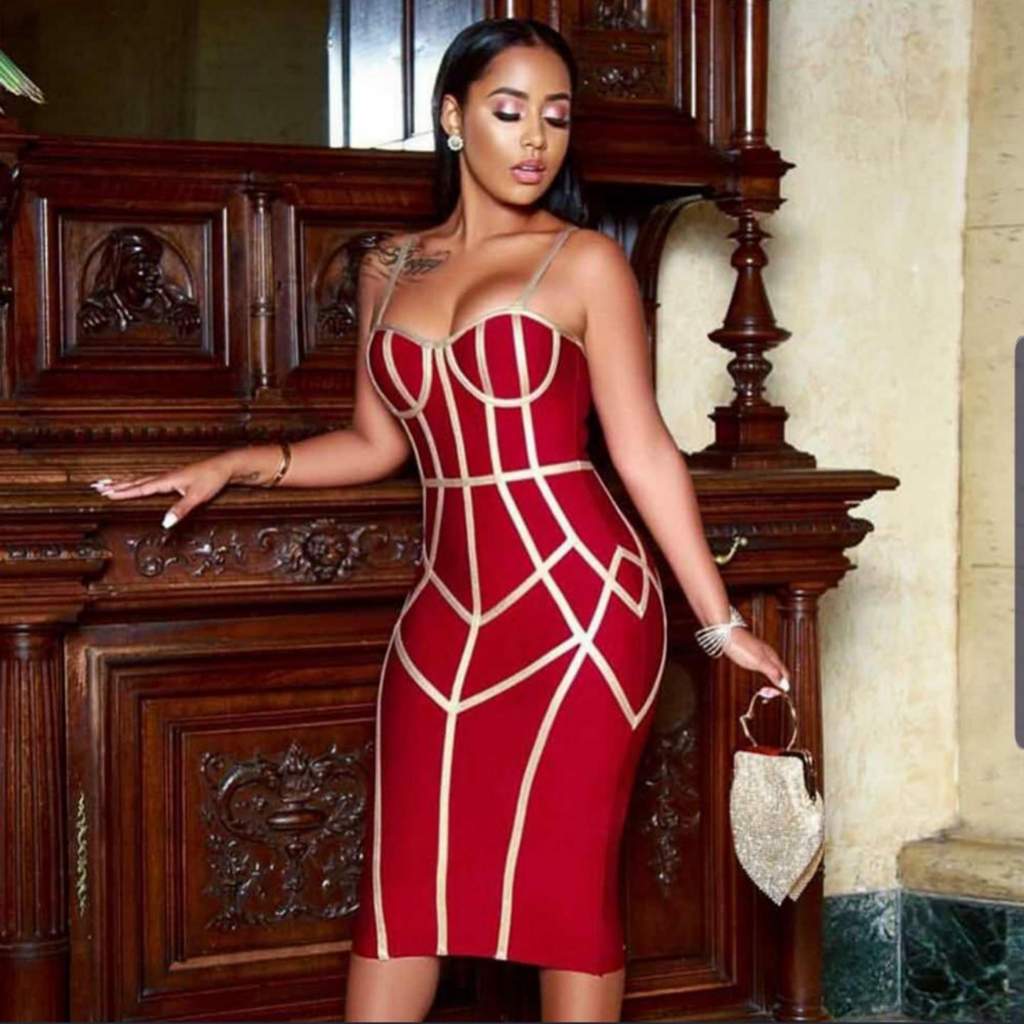 'Advisor' bandage dress